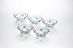 A set of salad bowls 15 cm, 5 pcs