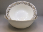 "A set of two salad bowls ""BAROQUE"""