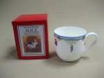 "Mug ""Alisa"" with blue Edging 350 ml"