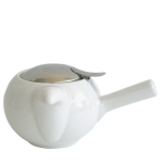 Kettle with strainer 480 ml has next color: White
