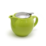 Kettle with strainer 450 ml has next color: Light green