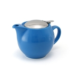 Kettle with strainer 450 ml has next color: Light sky blue