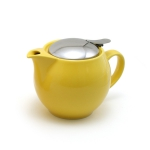 Kettle with strainer 450 ml has next color: Yellow