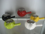 Kettle with strainer 480 ml has next color: Light green