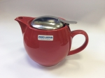 Kettle with strainer 450 ml has next color: Cherry