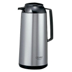 "Japanese thermos ""GEARIC"" with 1,9 L glass bulb, Steel"