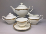 "Tea set ""EMPIRE"" of 17 items fo 6 persons"