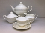 "Tea set  ""ANTIQUE"" of 17 items fo 6 persons"