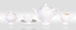 "Tea set  ""AJOUR"" of 17 items fo 6 persons"