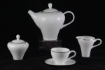 "Tea set  ""MODERN"" of 17 items fo 6 persons"