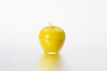 "Vase with lid ""Apple"" of 7.5*9 cm color: Yellow"