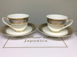 "A set of cups for two persons ""GIVENCHY"""