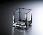 "Candle holder ""Cube"", size (11,5*11,5/11,8) cm"