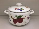 Japanese enamelled pan for 4,3 L, Series of Fruits