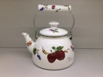 Japanese enamelled kettle 2,5 L, Series of Fruits