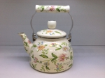 Japanese enamelled kettle 2,5 L, series of Provence