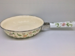 Japanese enamelled frying-pan 22 cm, series of Provence