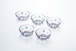 A set of salad bowls 11.2 cm, 5 pcs