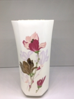 "Flower vase  ""Golden Magnolia""  28 сm"