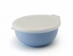 Porcelain tray with plastic lid color– Milk blueberry