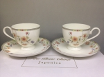 "A set of cups for two persons ""ASEMI"""